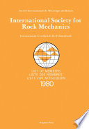 International Society for Rock Mechanics