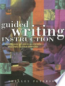 Guided Writing Instruction