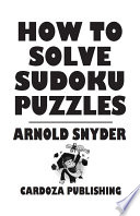 How To Solve Sudoku Puzzles : sudoku with simple tips and tricks to...