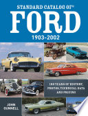 Standard Catalog Of Ford 1903 2002