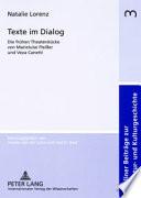 Texte im Dialog
