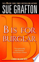 B Is For Burglar book