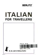 Berlitz Italian for Travellers