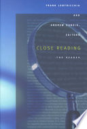 Close Reading The Reader