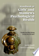 Handbook Of Girls And Women S Psychological Health