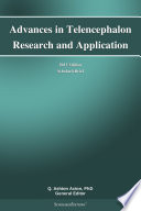 Advances in Telencephalon Research and Application: 2013 Edition ScholarlyBrief