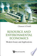Resource and Environmental Economics