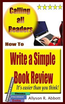 How to Write a Simple Book Review Book Cover