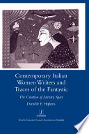 Contemporary Italian Women Writers and Traces of the Fantastic