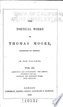 The Poetical Works of Thomas Moore  Corruption  and Intoerance  two poems  The sceptic  a philosophical satire  Two penny post bag  by Thomas Brown the Younger  Satirical and humorous poems  Irish melodies Book PDF