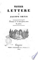Ultime lettere di Jacopo Ortis 3Ugo Foscolo