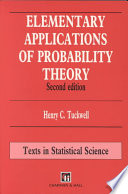 Elementary Applications of Probability Theory  Second Edition
