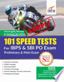 SAMPLE  101 Speed Tests for IBPS   SBI Bank PO Exam 4th Edition