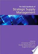 The SAGE Handbook of Strategic Supply Management