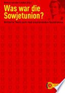 Was war die Sowjetunion?