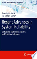 Recent Advances In System Reliability book
