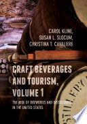 Craft Beverages and Tourism  Volume 1