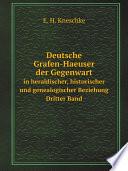 Deutsche Grafen-Haeuser der Gegenwart