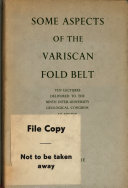 Some Aspects of the Variscan Fold Belt