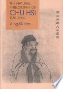 The Natural Philosophy Of Chu Hsi 1130 1200