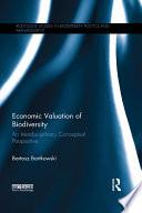 Economic Valuation of Biodiversity