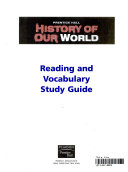 Reading and vocabulary study guide