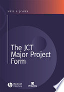 the jct major project form