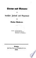 Sterne und Meteore in deutscher Zukunft und Gegenwart