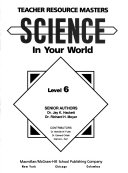 Science in Your World: Teacher resource masters