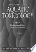 Fundamentals Of Aquatic Toxicology book
