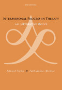 download ebook interpersonal process in therapy: an integrative model pdf epub