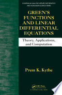 Green   s Functions and Linear Differential Equations