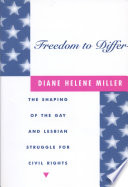 Freedom To Differ book