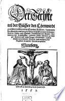 Der ... Teil der Bücher des Ehrnwirdigen Herrn Doctoris Martini Lutheri ...