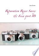 illustration du livre Réparation Royer Savoy & Foca sport IB