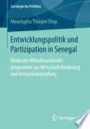 Entwicklungspolitik und Partizipation in Senegal
