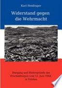 Widerstand gegen die Wehrmacht