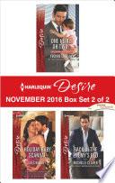 Harlequin Desire November 2016   Box Set 2 of 2