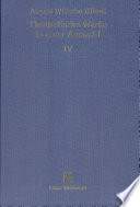 Bd.4 Iffland,Theatralische Werke