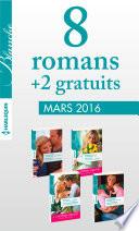 8 romans Blanche + 2 gratuits (no1258 à 1261 - Mars 2016)