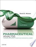 Pharmaceutical Analysis E Book