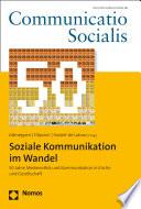 Soziale Kommunikation im Wandel