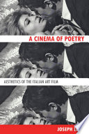 A Cinema Of Poetry book