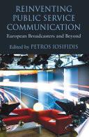 Reinventing Public Service Communication