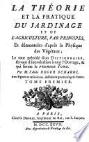 La théorie et la pratique du jardinage