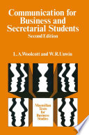 Communication for Business and Secretarial Students