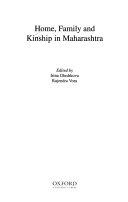 Home  Family and Kinship in Maharashtra