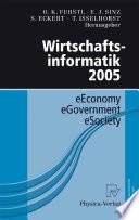 Wirtschaftsinformatik 2005