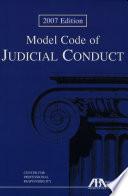 Model Code of Judicial Conduct