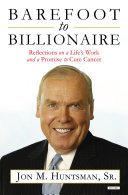 download ebook barefoot to billionaire: reflections on a life\'s work and a promise to cure cancer pdf epub